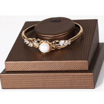 New Design Bronze PU Bangle Display Base Wholesale (BGL-BZL-N1)