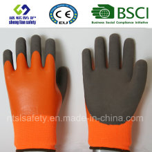 Latex Frosted Gloves, Sandy Finish Safety Work Gloves (SL-RS307)