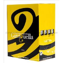 Виноградная винная сумка в коробке / Винный мешок в коробке