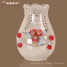 Offre directe fabricant vase décoration en céramique style chinois pour décoration de maison