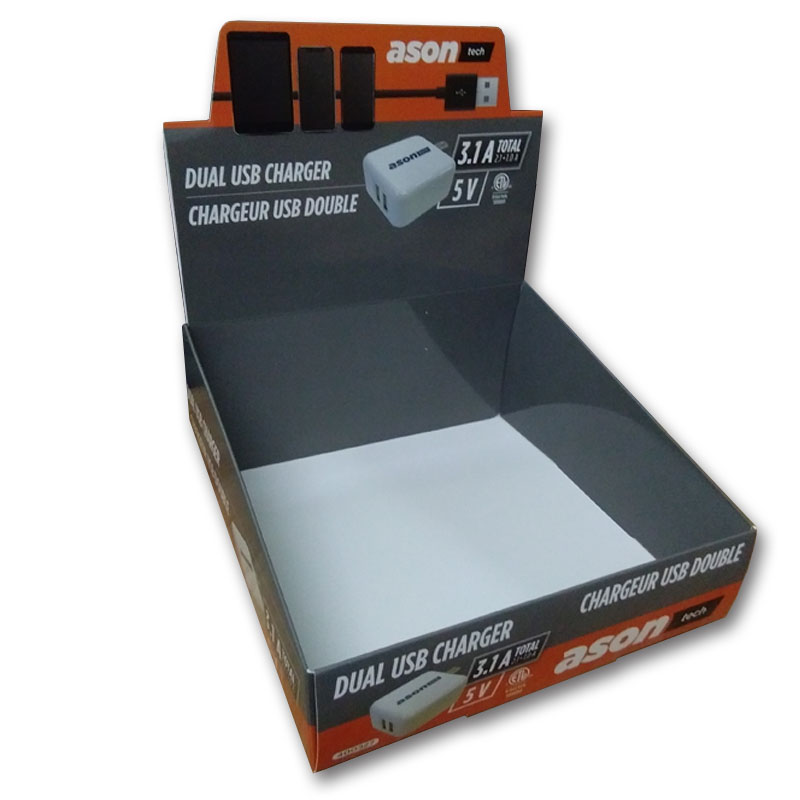 The Charger Display Storage Gift Box