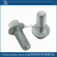 SAE J429 Grade 8 Alloy Steel Hex Serrated Flange Bolts