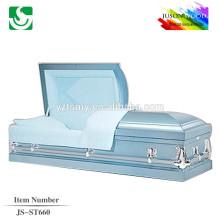 JS-ST660 trade assurance supplier reasonable price metal caskets china