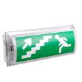 Excellent signe de flèche de sortie de feux de cloison d'urgence à LED