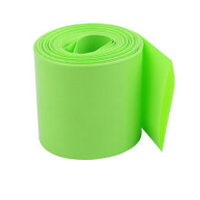 Grass Green Electronic Insulation PVC Heat Shrink Tubing for Protecting Cable and Battery