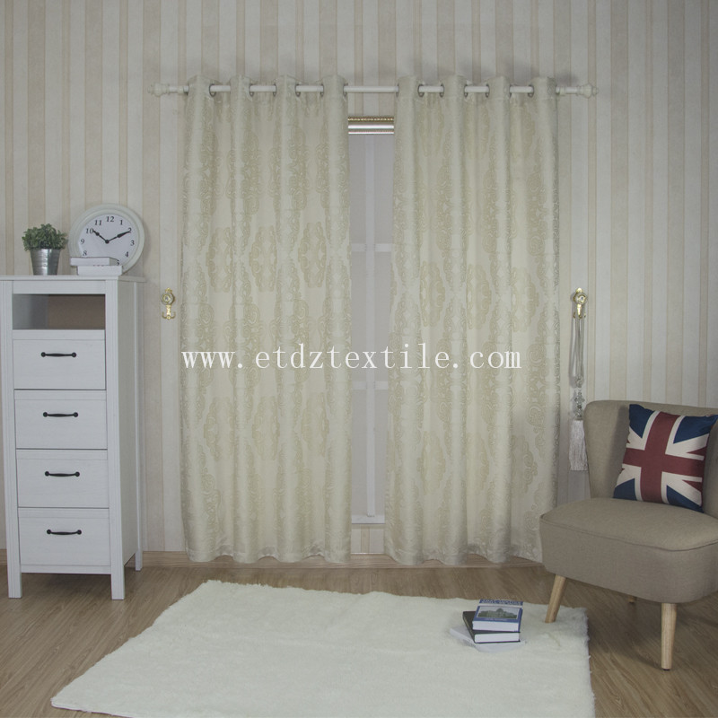 Hot Design Soft Textile Curtain Fabric GF024