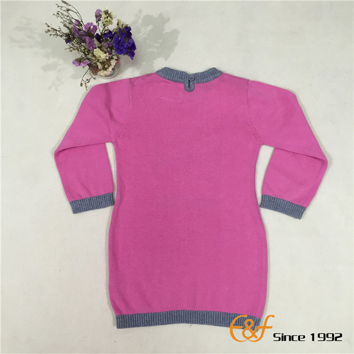 Long Section Sweater for Girls