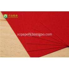 Specialty Cardstock Paper Alkaline Red Cardboard