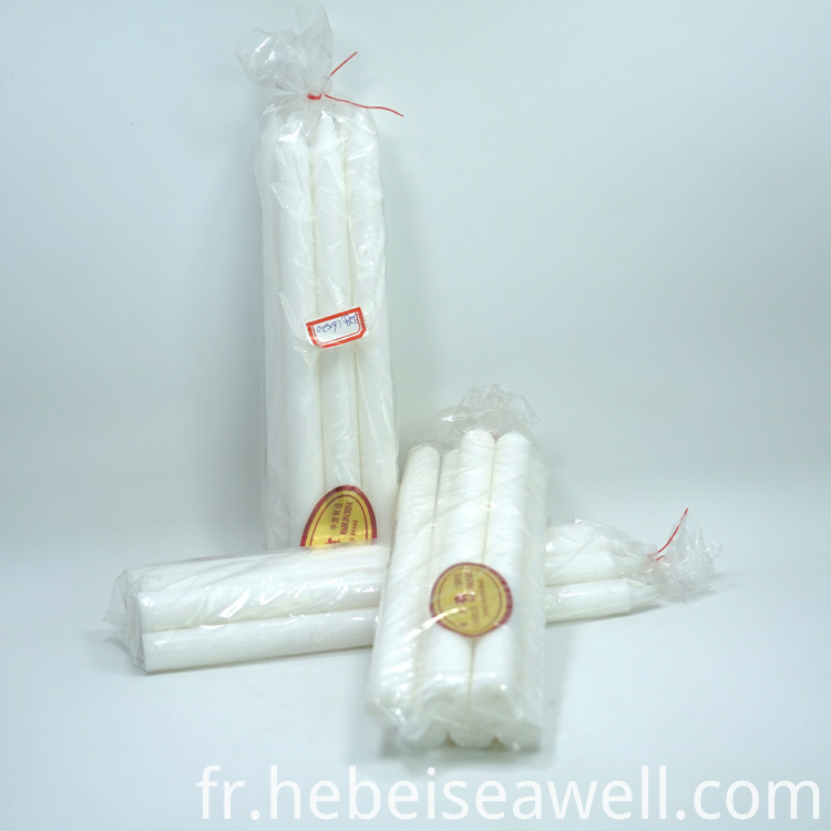 White Stick Candle 33