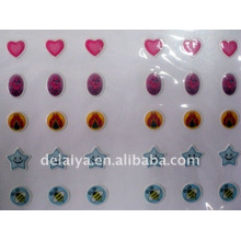 PVC Earing sticker