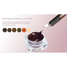 Tinta permanente para sobrancelha de maquiagem Goochie