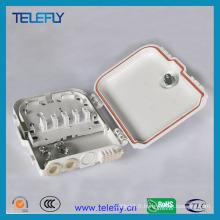 Boîte à bornes fibre optique FTTH 8fo