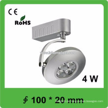 CE & ROHS Zertifikat 4W Cob Track LED Licht, 3 Jahre Garantie