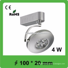 CE&ROHS certificate 4W cob track LED light,3 years warranty