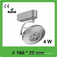 Certificado do CE & ROHS 4W cob trilha luz do diodo emissor de luz, 3 anos de garantia