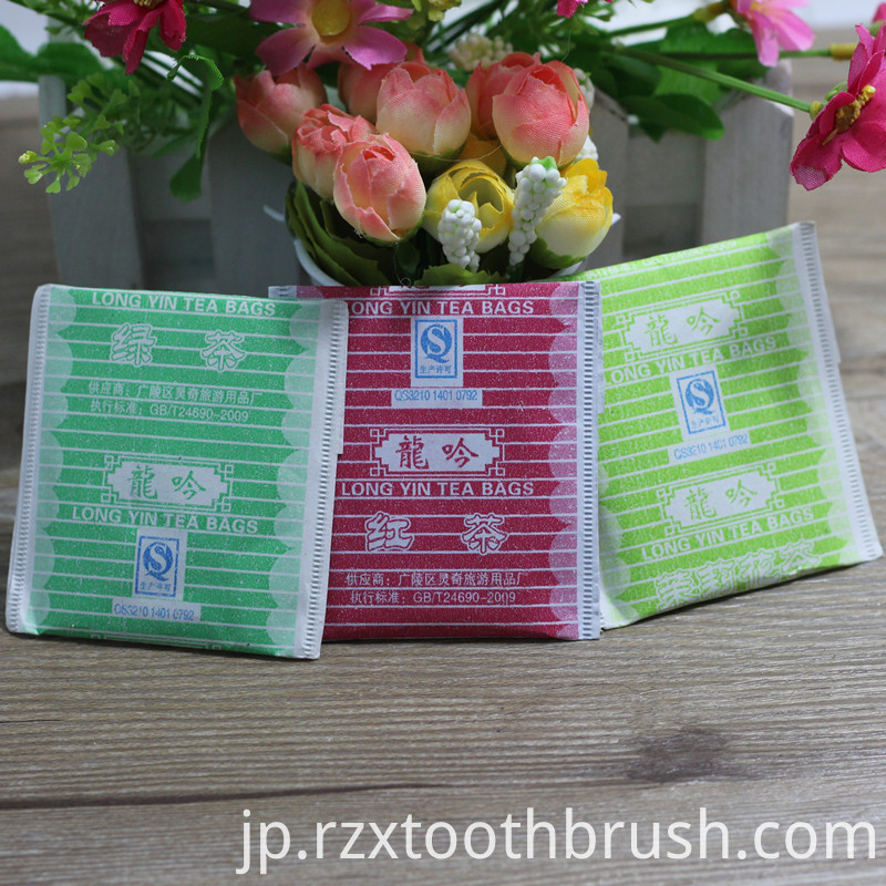 Customized Hotel Tea Bags