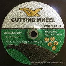 Centro hundido abrasivo de corte y el disco abrasivo para Metal
