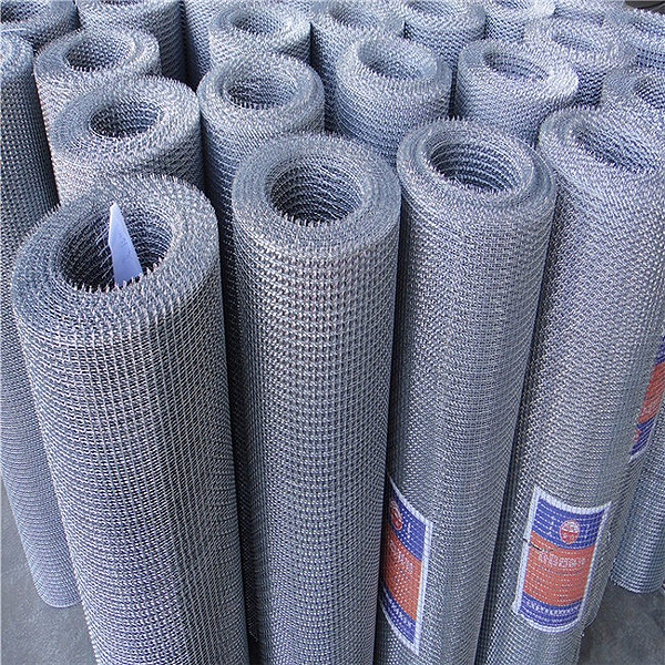crimped woven wire mesh net