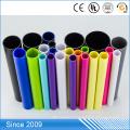 Tubo de plástico hueco de polietileno de 1 mm de color aislante