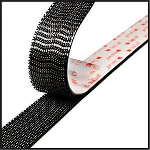 double side 3M adhesive velcro hook loop