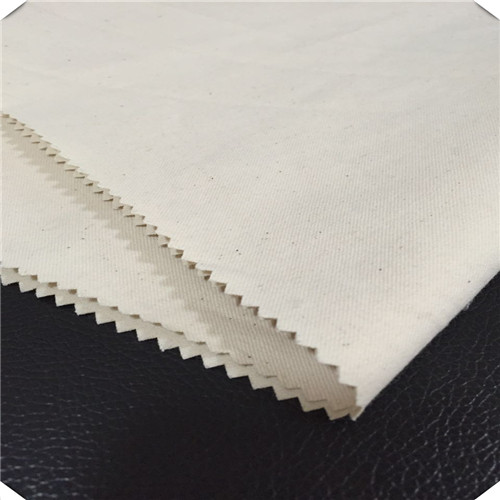 100 Cotton Thick Woven Grey Fabric