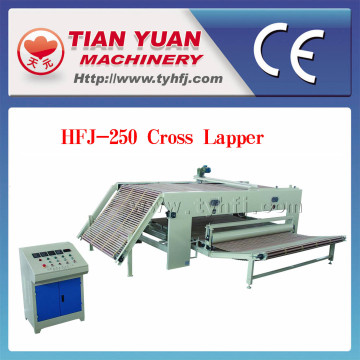 Nonwoven Polyester Fiber Cross Lapper Machine