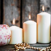 Noël célébrer décoration bougies pilier en vrac pas cher