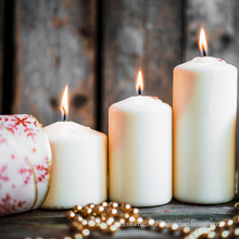 Christmas Celebrate Decoration Pillar Candles Cheap Bulk