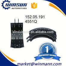 Sistema de frenos Remolque 4551Q Zapata de freno