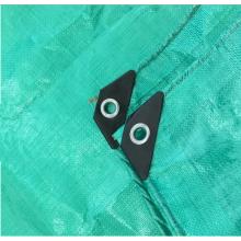 Девственный материал Зеленый брезент с усиленным углом