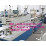 PC/PP/PE Plastic Hollow Grid Board Extrusion Production Line
