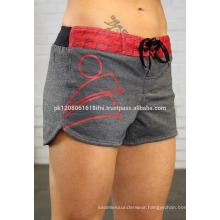 Offering crossfit shorts with logo custom made design for women and girls gym yoga