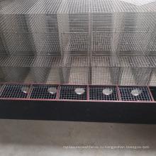 Новый дизайн лучшей цене двух слоев 16 гнезда нержавеющей стали сварные сетки норки клетки