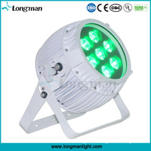 Rgbawuv 6in1 DMX inalámbrico operado con pilas Mini LED Spot Light