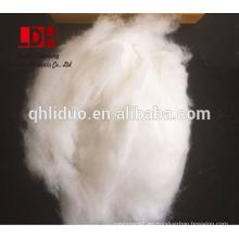 Blanco X Longitud de fibra de cachemira depilada blanca 20 / 22mm con 15.5 micras