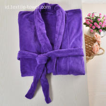 Grosir Fleece Robe Plus Size Bathrobe