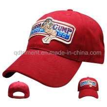 Applique en feutre Custom Embroirdery Leisure Baseball Cap (TMB6231)
