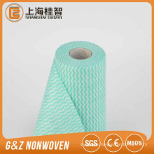 cleaning cloths Blue/Wave 30*33CM Non-woven Spunlace Wipe