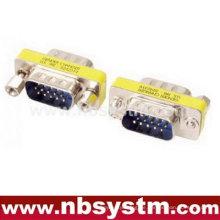 Mini-Adapter, db15 männlich zu männlich Geschlechtwechsler blau
