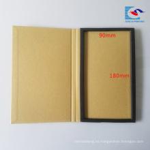 Paquete de protector de pantalla de papel artesanal marrón