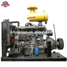 4 motor diesel do curso 70kw com embreagem R6105P para a bomba de água