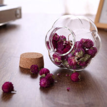 Hot Sale Factory Price Wholesale Storage Jars Unique Fruit Juice Glass Bottle