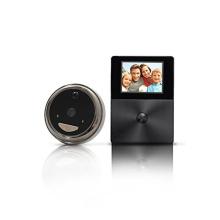 Timbre video del wifi del anillo de la mirilla de HD con el intercomunicador del monitor de la pantalla lcd
