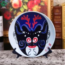 China maquillaje facial de cerámica que sirve plato restaurante placa de cena