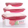 La caja caliente de la comida del plástico del Cheep de la venta de China de la calidad de Hidh