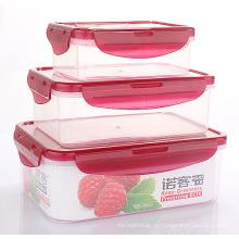 Высокое Качество Китай Горячая Распродажа Пластиковые Коробки Обед Еды Оптом