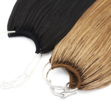Unprocessed Straight Natural Human Virgin No Tip Hair Extension Remy Hair