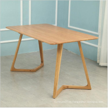 Factory Oak furniture wood dining table