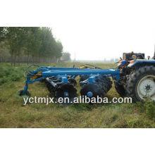 Grada de discos de equipos agrícolas, tipo de tracción grada de discos hidráulica, 1BZ-3.4