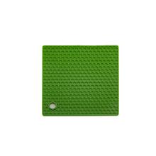 Нескользящий жаростойкий квадратный держатель силиконового горшка / силиконовая подкладка / настольная подставка